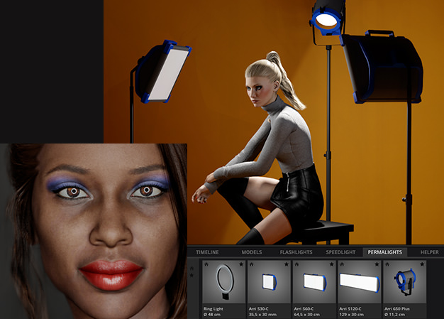 set a light 3D V2 0 - Lighting Simulator for photographers